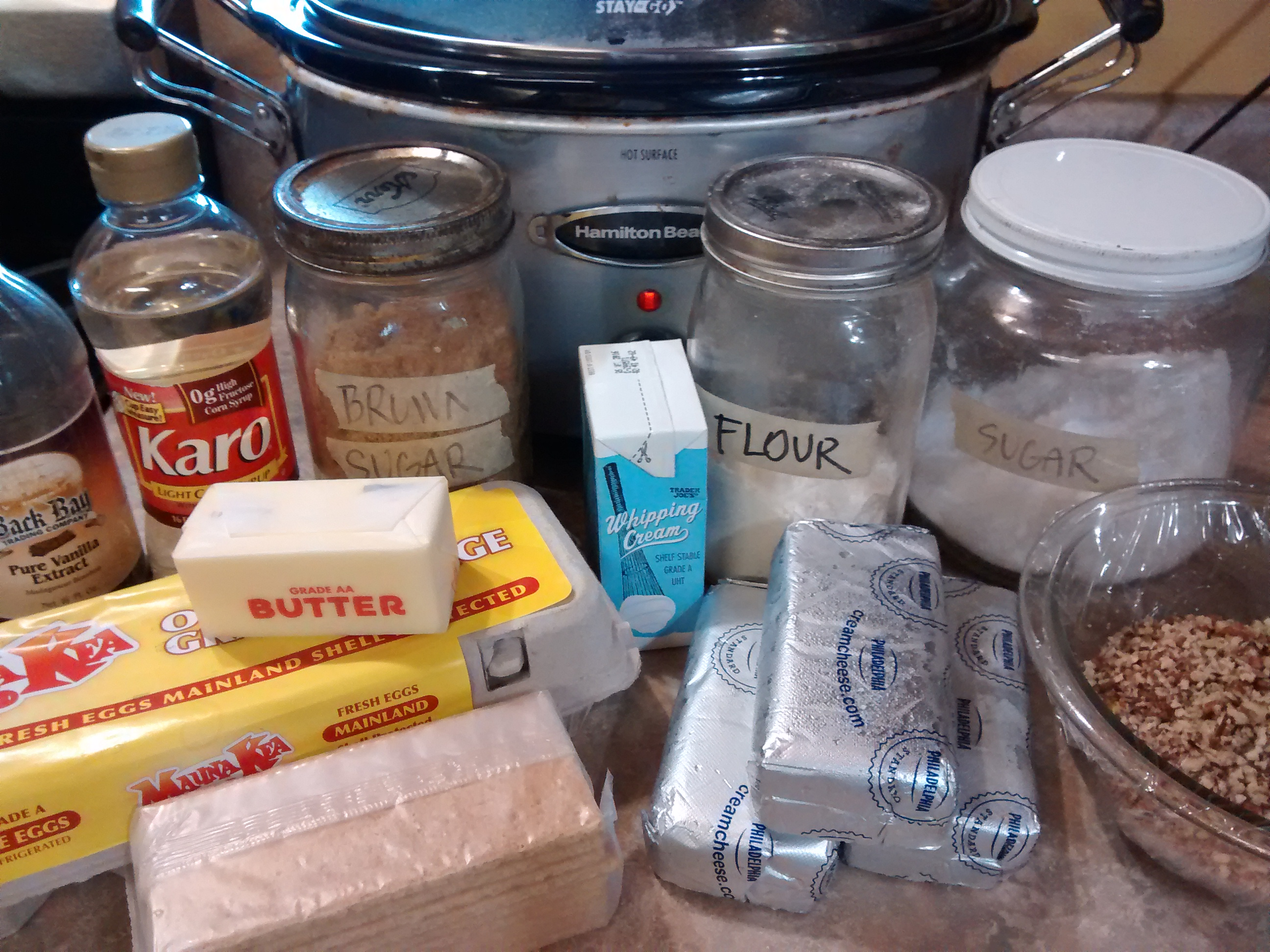 pecan pie cheesecake ingredients
